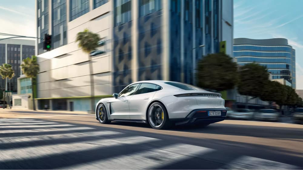 The 2020 Porsche Taycan available in Beverly Hills, CA