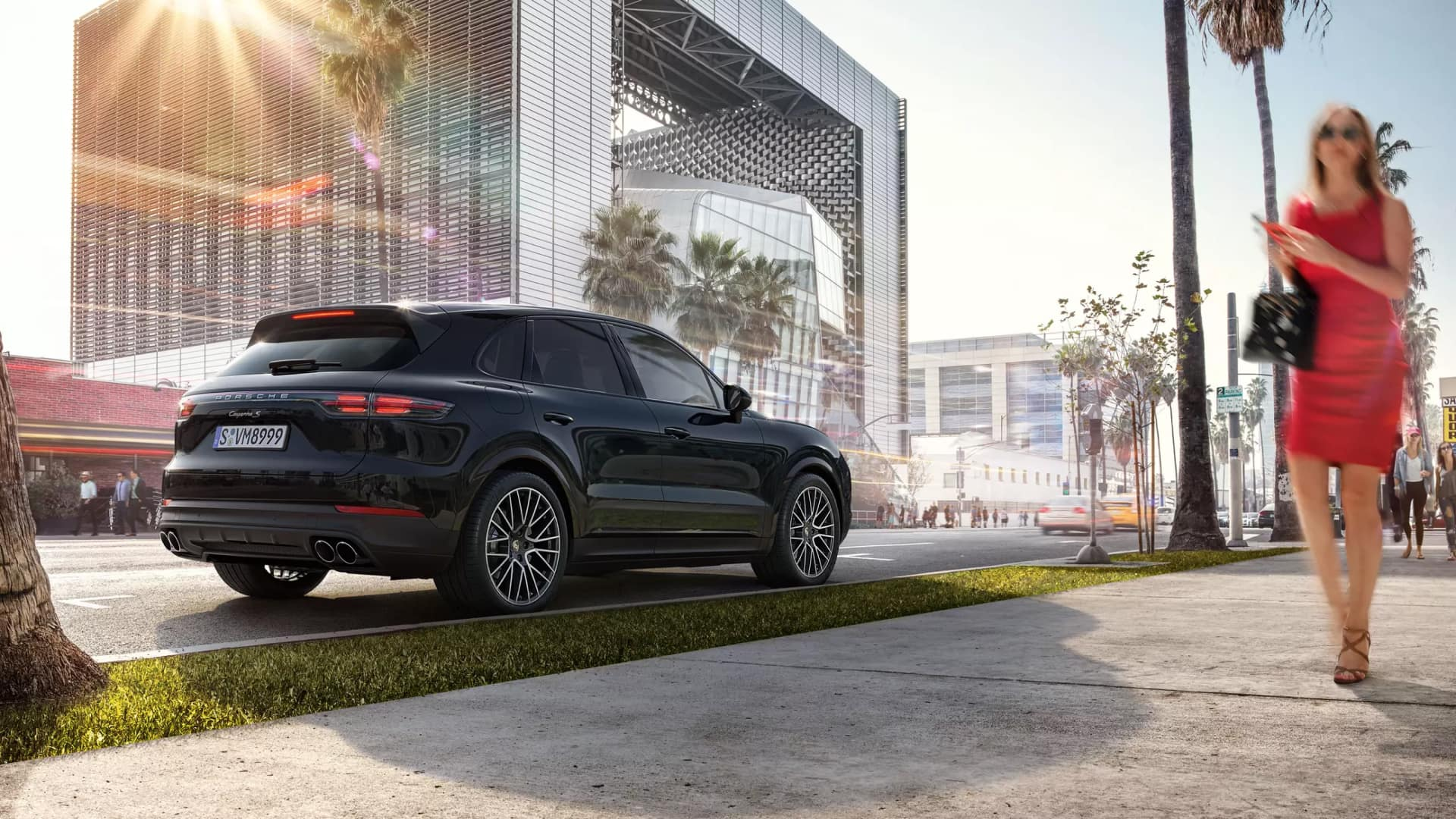 2020 Porsche Cayenne Safety