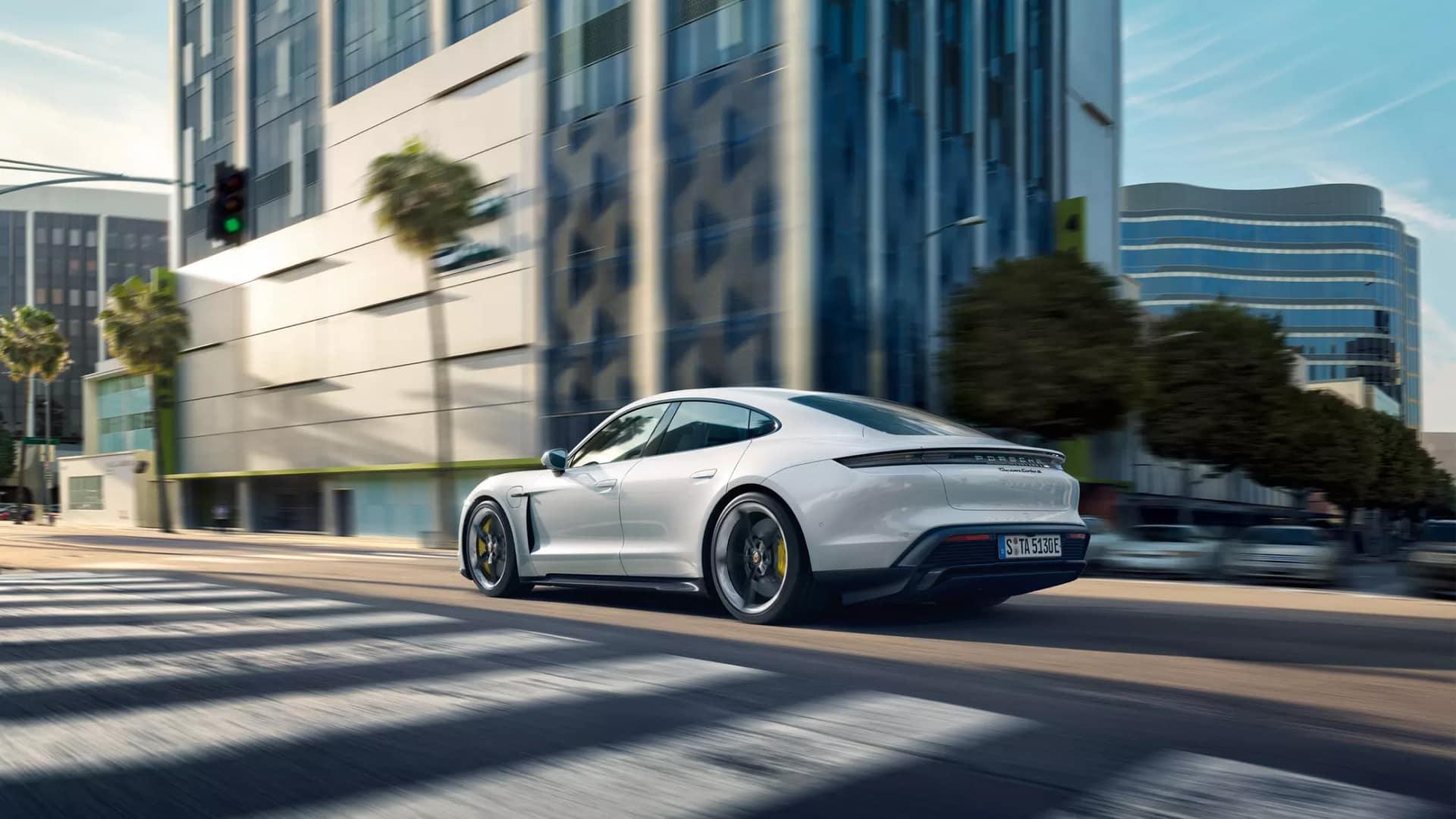 2020 Porsche Taycan Safety