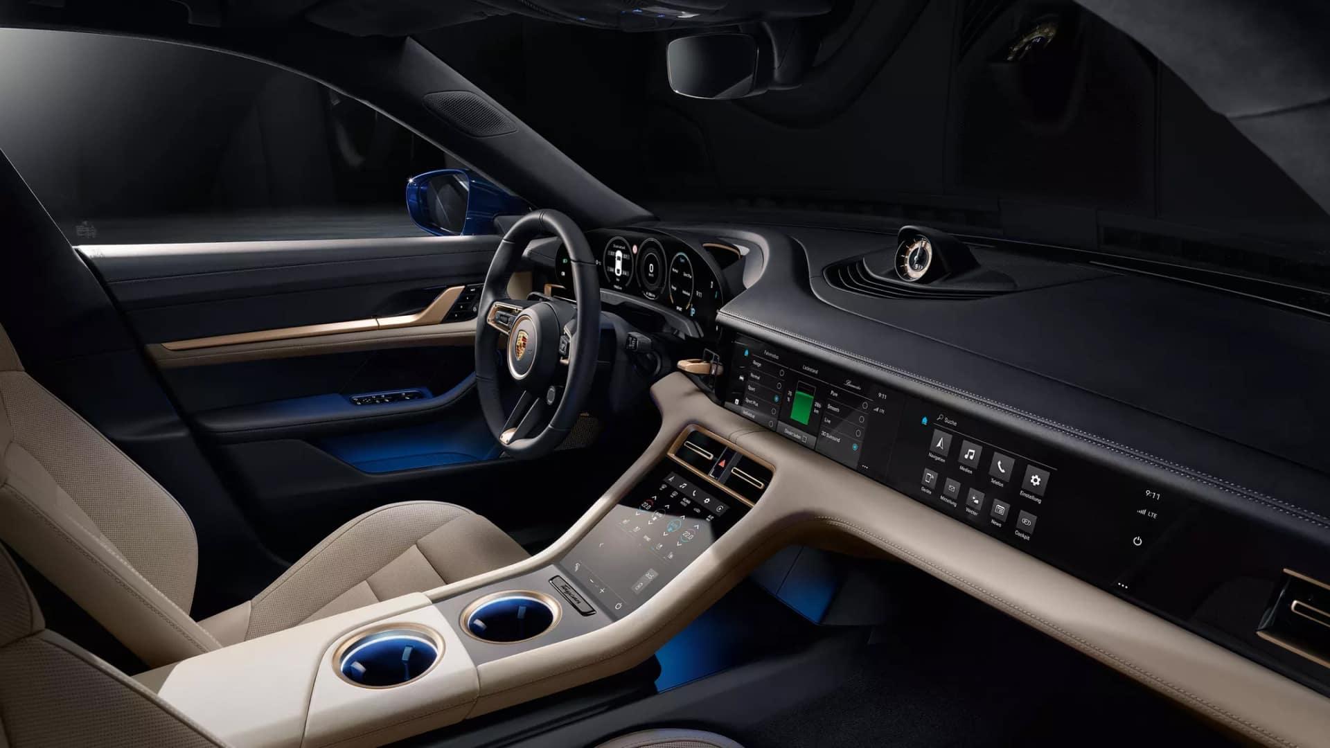 2020 Porsche Taycan Technology