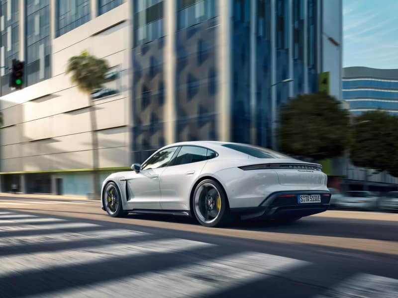 The high-performance 2020 Porsche Taycan
