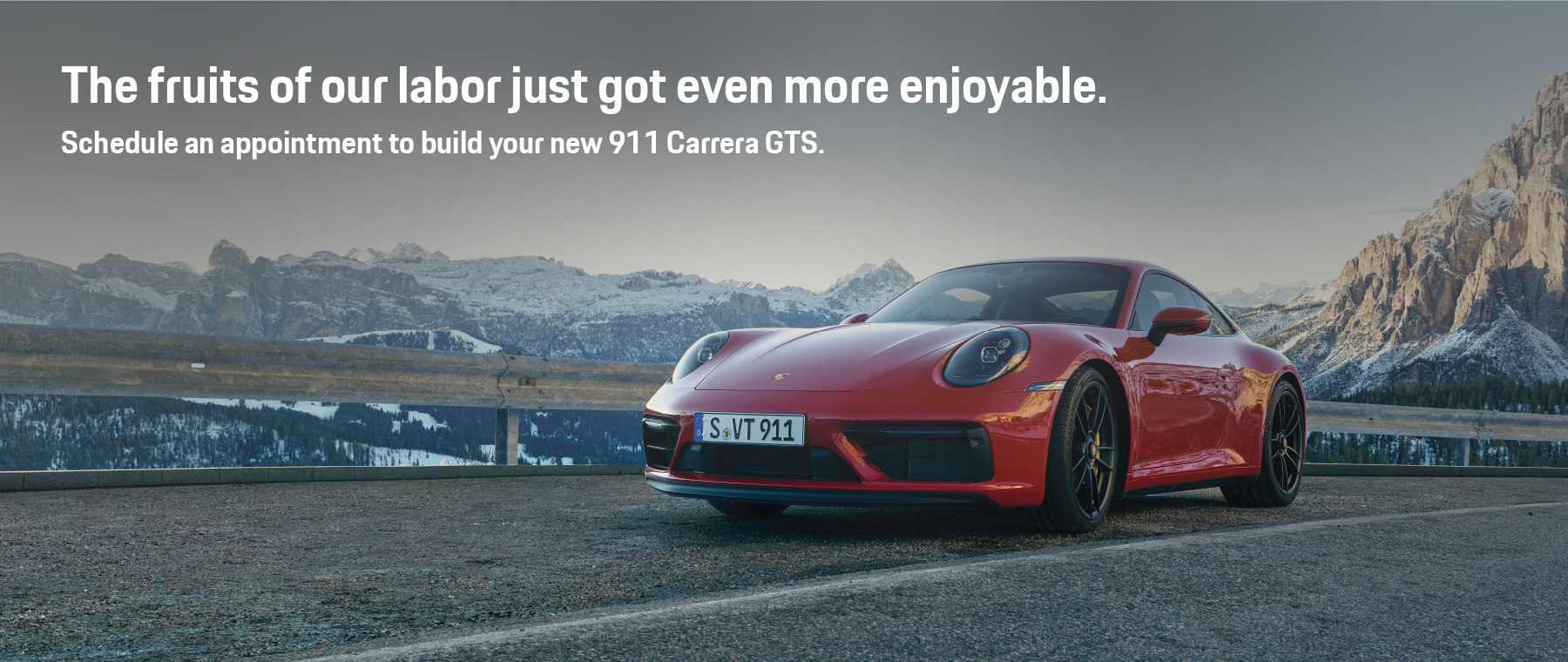 Fruits of our Labor – 911 GTS – DI