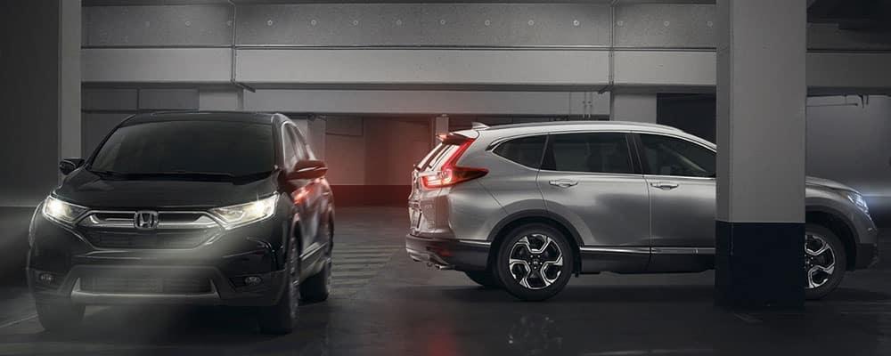 2019 Honda CR-V Inside Parking Garage