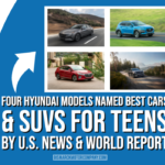 Four Hyundai Models Named Best Cars & SUVs for Teens by U.S. News & World Report
