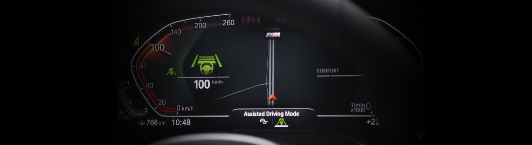 How to Use BMW Lane Change Assistant