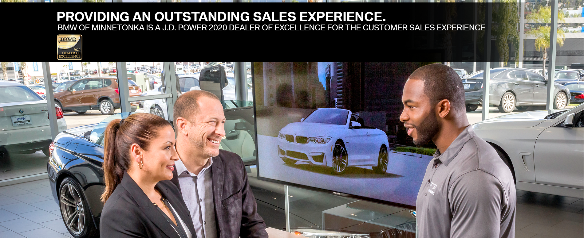 Providing an Outstanding Sales Experience. BMW of Minnetonka is a J.D Power 2020 Dealer of Excellence For The Customer Sales Experience.