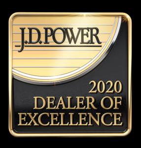 J.D. Power 2020 Dealer of Excellence Winner