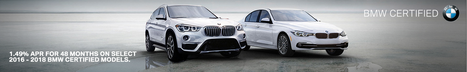 BMW Certified Pre Owned 1.49% APR for 48 Months on CPO Select Vehicles