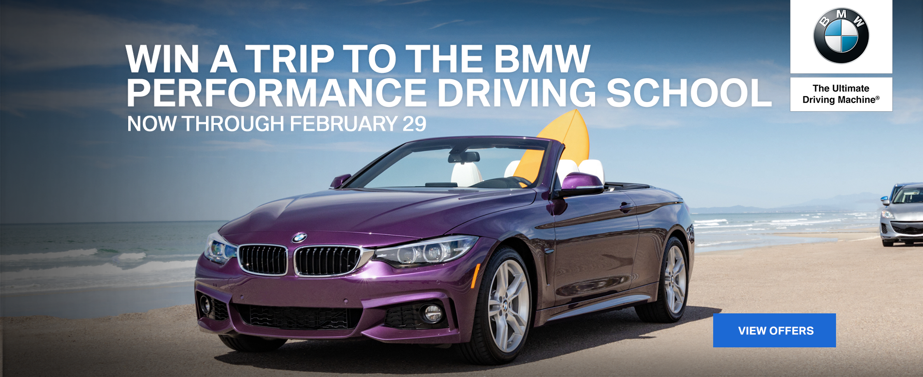 Win a trip to the BMW Performance Driving School
