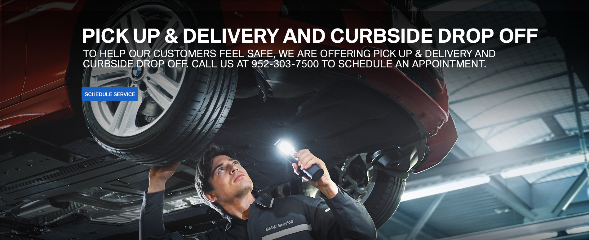 Pick Up & Delivery and Curbside Drop Off