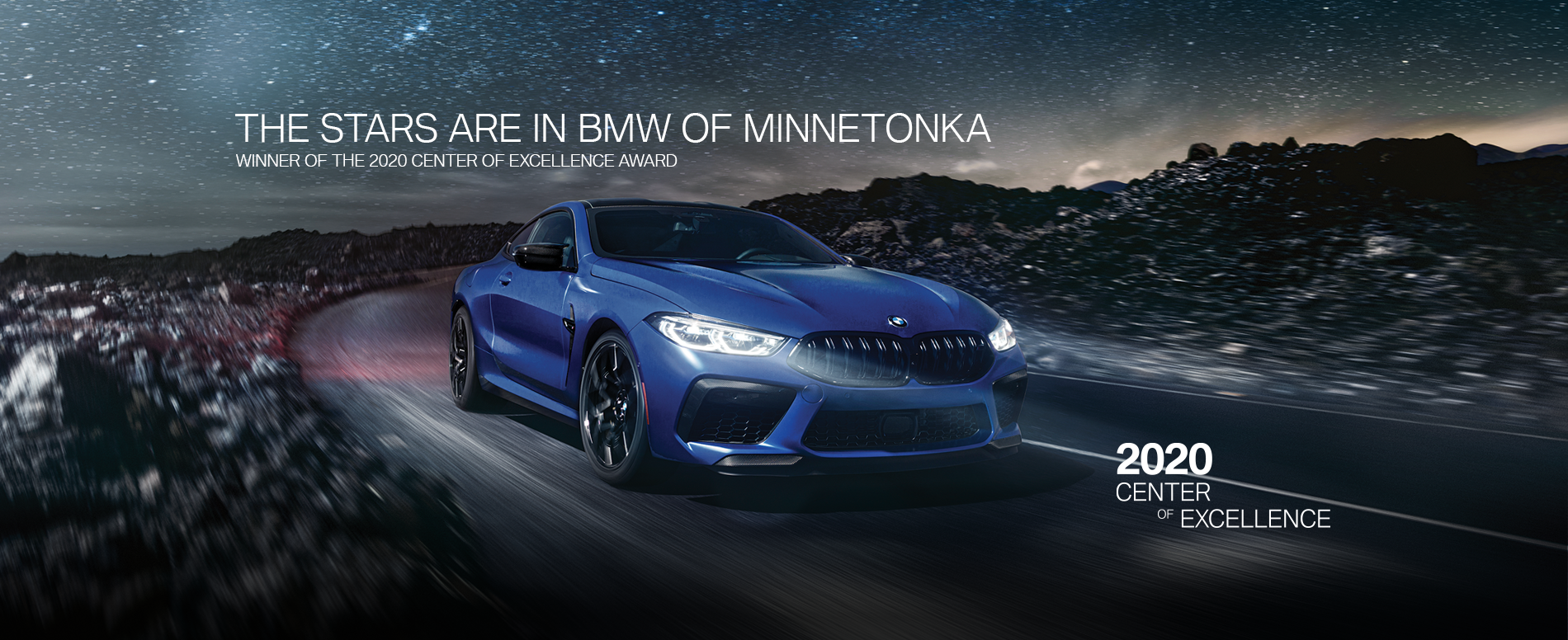 BMW of Minnetonka is a Winner of the Center of Excellence Award