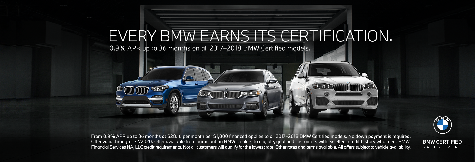 Certified BMW Sales Event Sep-Oct