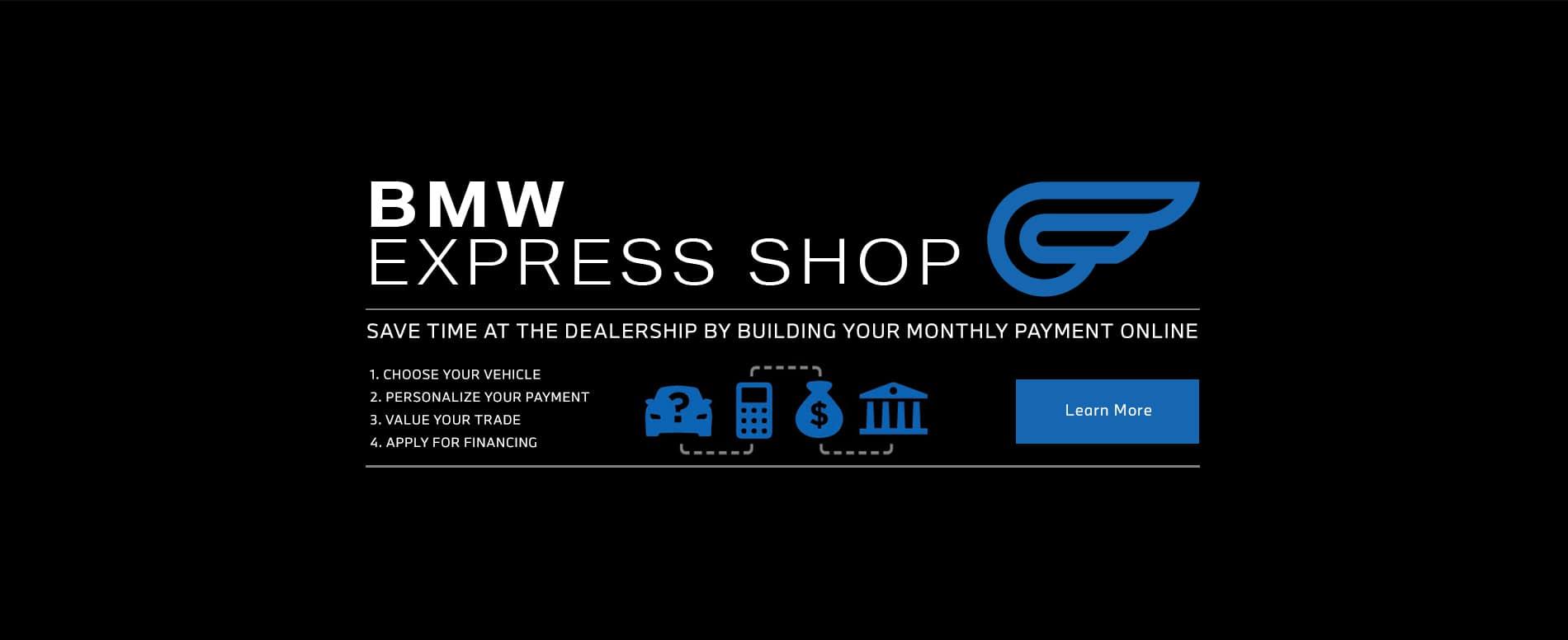 Stay inside and buy online with BMW Minnetonka!