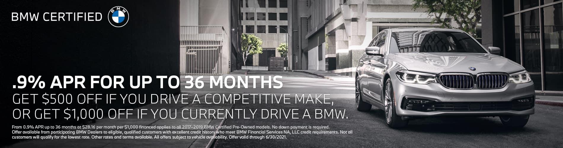 CPO BMW Offer