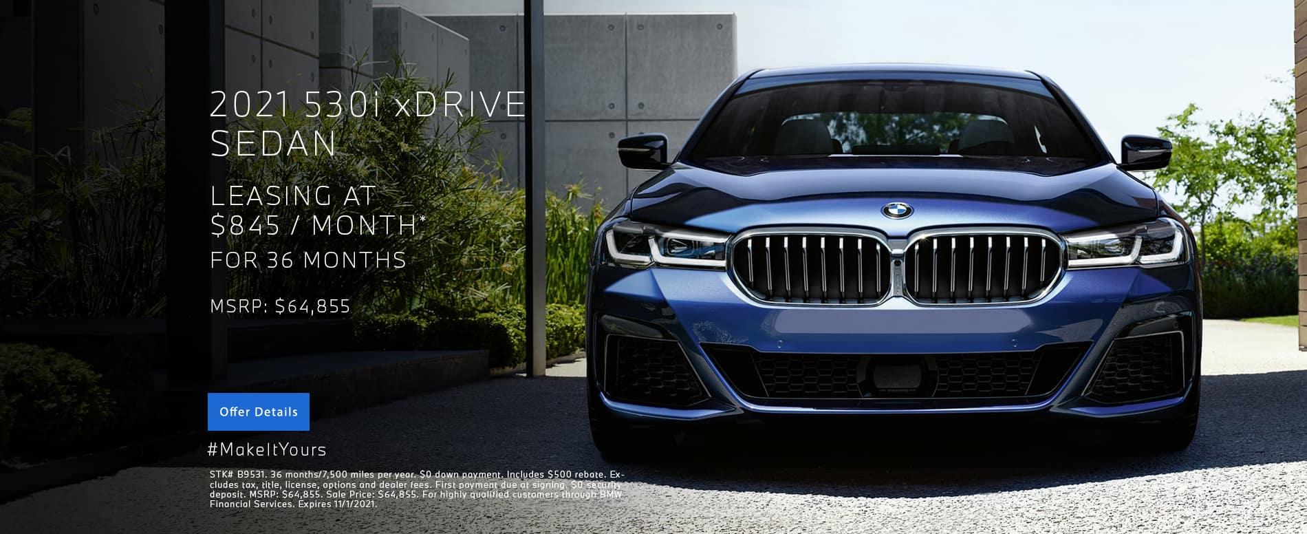 New 530i XDrive Lease | BMW Minnetonka