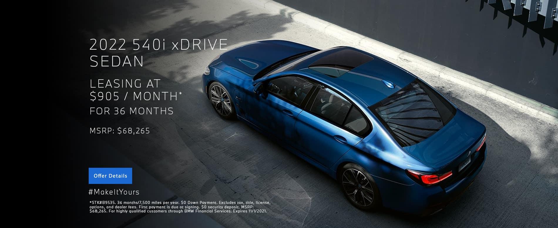 New 2022 540i xDrive Lease | BMW Minnetonka