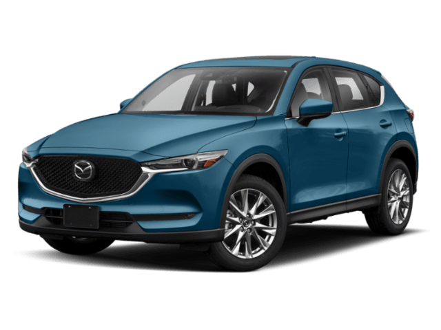 2019 Mazda CX-5 in blue