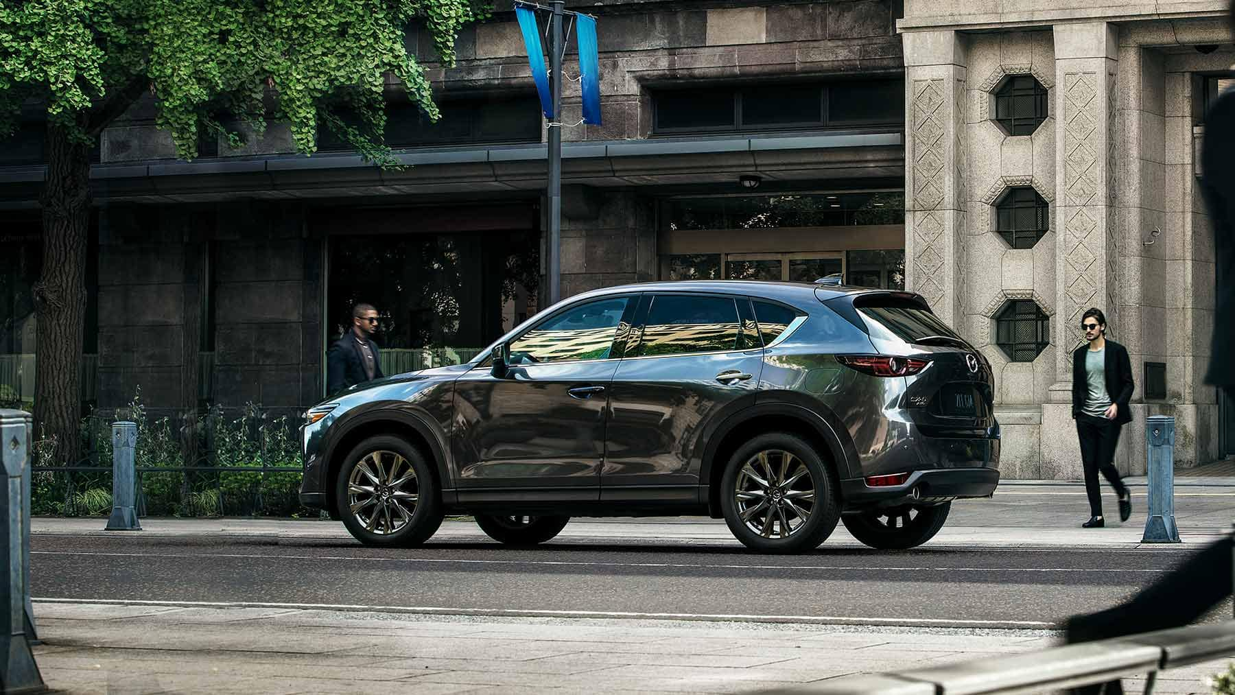 2019 Mazda CX-5 parked on road