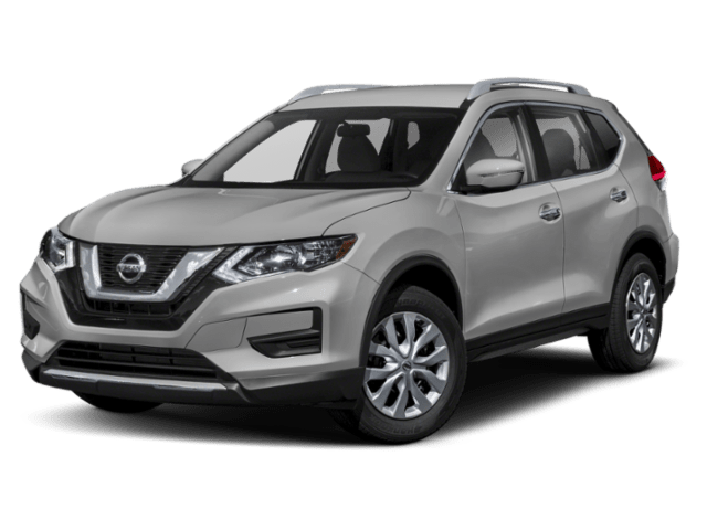 2019 Nissan Rogue in silver