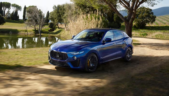 2019 Maserati Levante Driving on Dirt Road