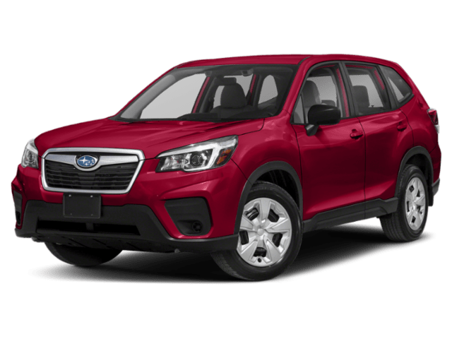 2020 Subaru Forester in red