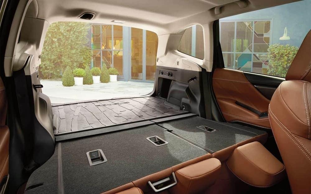 2020 Subaru Forester interior cargo space