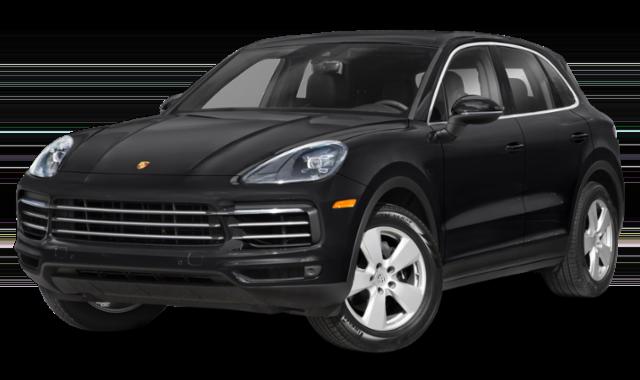 2020 Porsche Cayenne Black