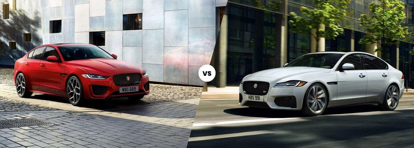 2020 Jaguar XE vs. Jaguar XF
