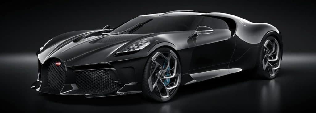 Bugatti La Voiture Noire 3/4 View
