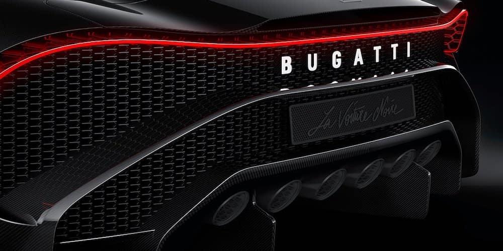 Bugatti La Voiture Noire Rear