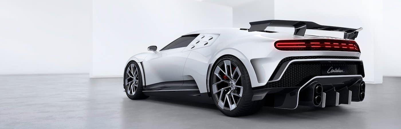 White Bugatti Centodieci