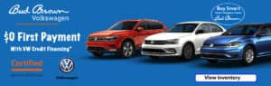 Over 60 CPO Volkswagen vehicles on sale