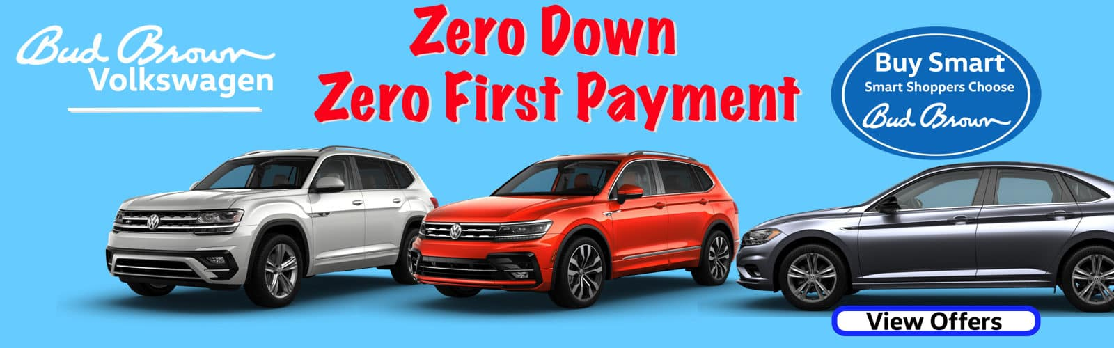 Bud Brown Makes your first lease payment