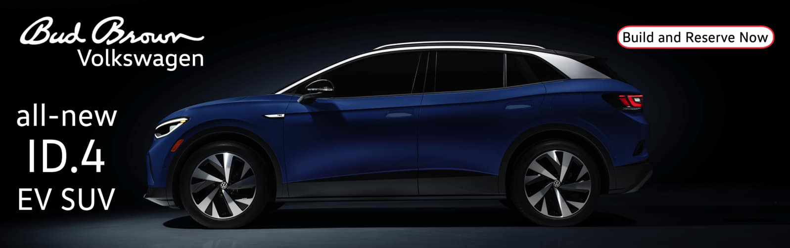 Reserve the ID.4 all-electric SUV at Bud Brown.