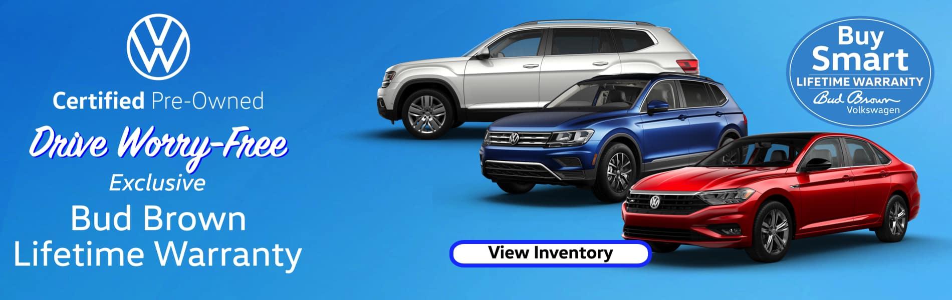 VW Certified Deals at Bud Brown Volkswagen