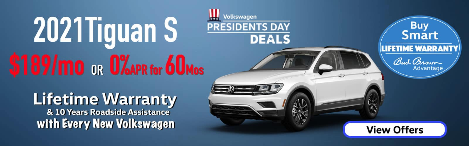 Presidents Day Event on Now