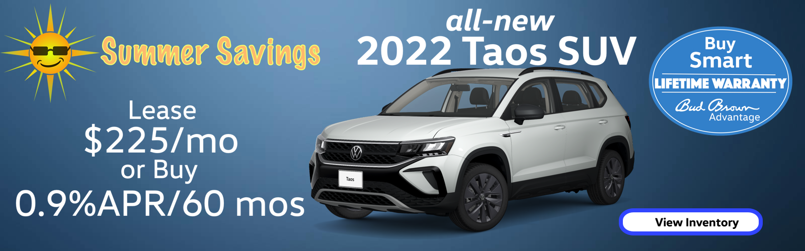 The all-new 2022 VW Taos SUV is here! $225 per month.