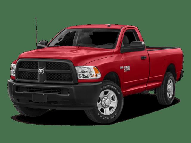 2018 Ram 2500 angled