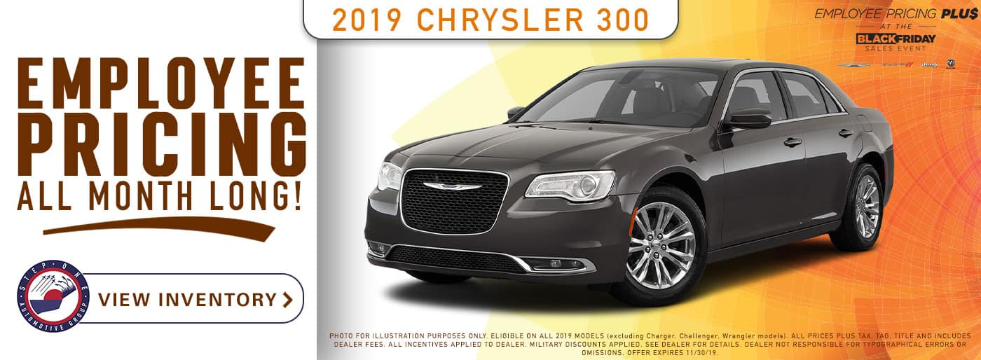 CDJR Crestview  - 2019 Chrysler 300