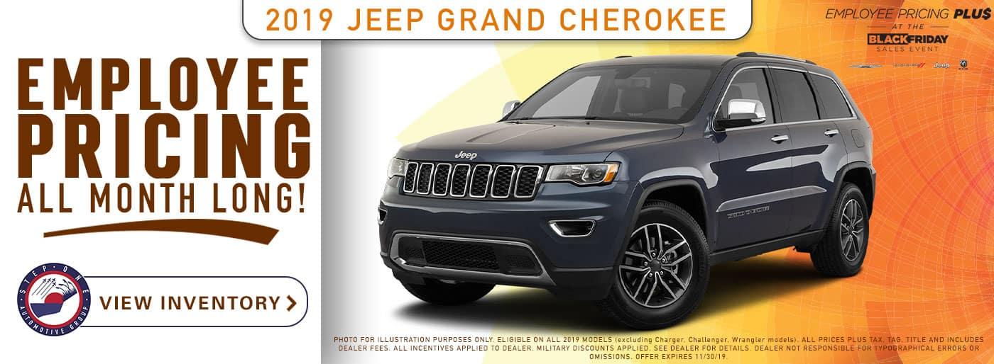 CDJR Crestview - 2019 Jeep Grand Cherokee