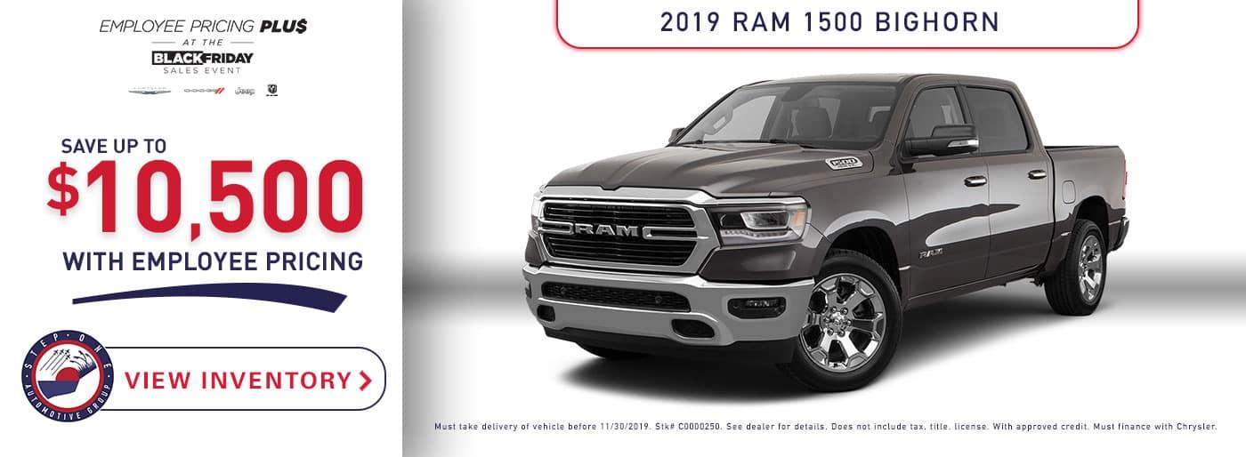 CDJR Crestview  - 2019 Ram 1500