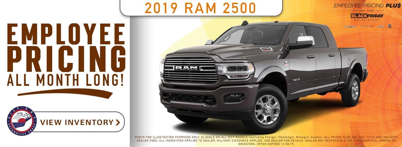 CDJR Crestview  - 2019 Ram 2500