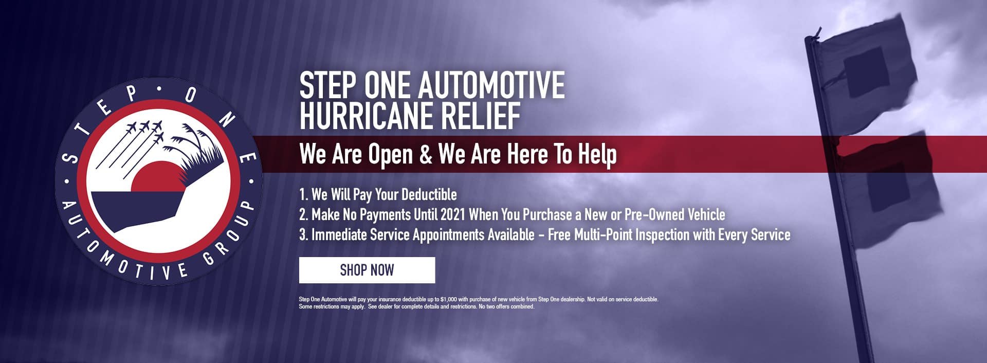 Step One Hurricane Relief