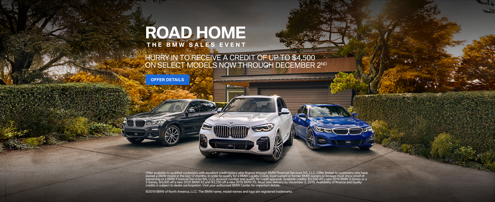 Road Home BMW Sales Event