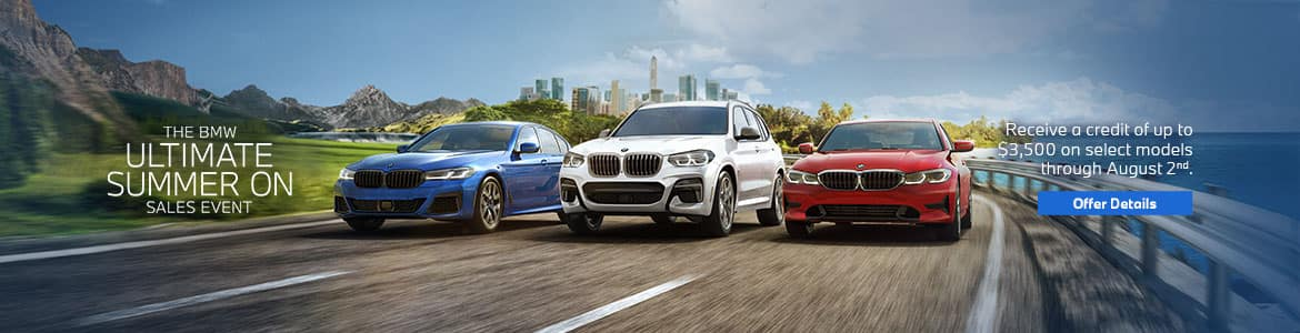 BMW Summer Sales Event in Los Angeles