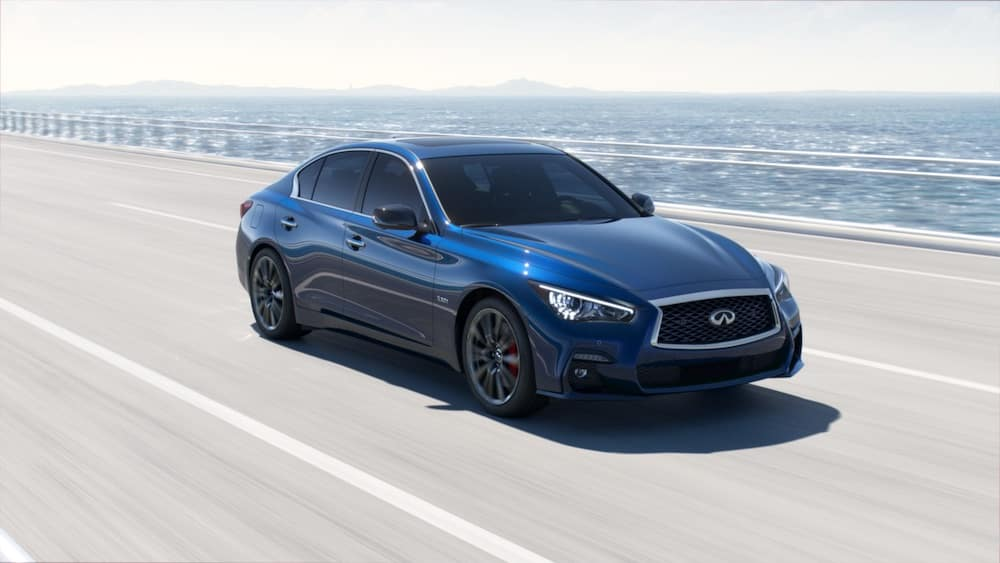 2019 INFINITI Q50 Iridium Blue