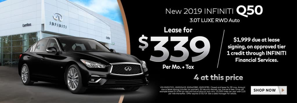 2019 INFINITI Q50 3.0T LUXE RWD Auto