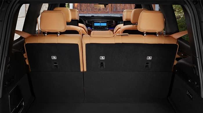 Jeep Wagoneer Interior Seating