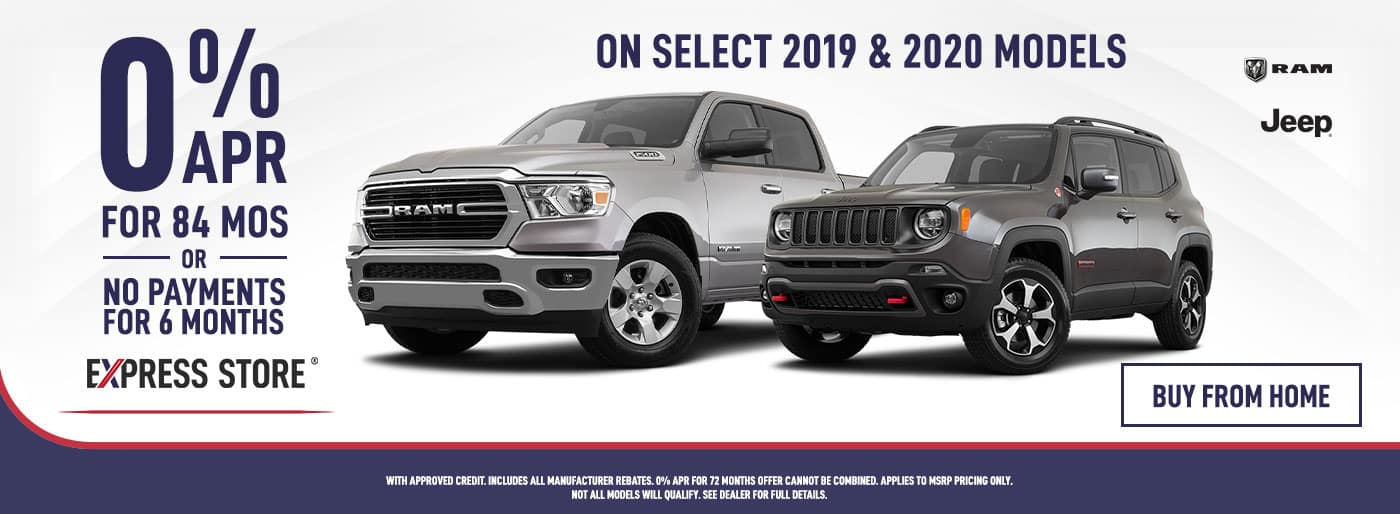 RAM & Jeep Offer