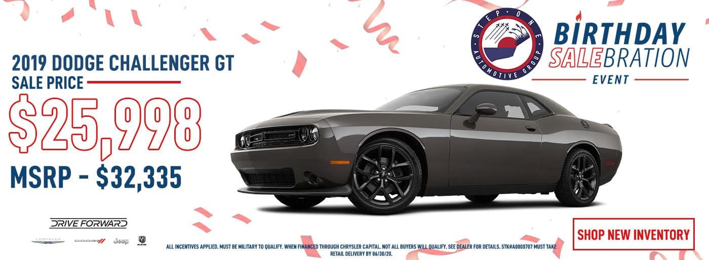 CDJR FWB - June 2020 - Dodge Challenger